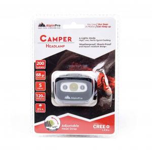 ALPINPRO - CAMPER HEADLAMP 200L