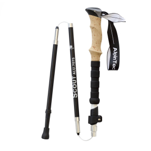 ALPINPRO - SCOUT WHITE (3 SECTION POLE)