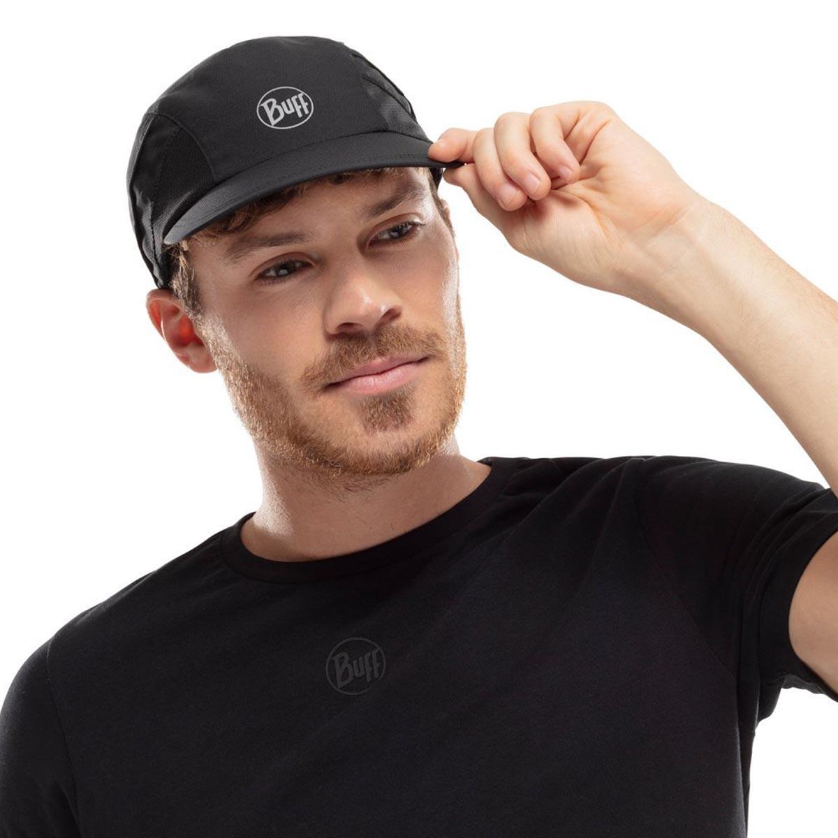 BUFF - PRO RUN CAP SOLID BLACK