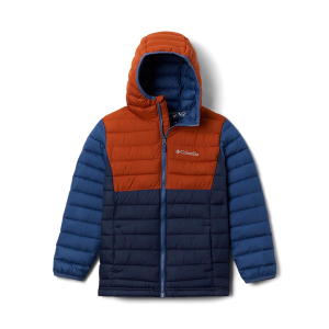 COLUMBIA - POWDER LITE BOYS HOODED JACKET