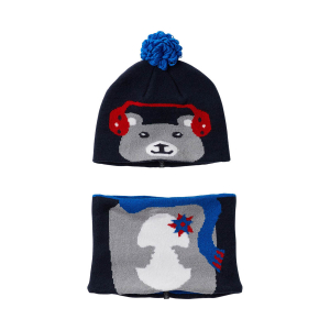 COLUMBIA - SNOW MORE BEANIE AND GAITER SET TODDLER