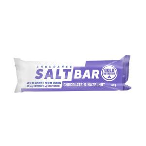 GOLD NUTRITION - ENDURANCE SALT BAR CHOCOLATE & HAZELNUT 40 GR