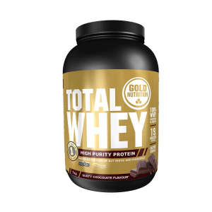 GOLD NUTRITION - TOTAL WHEY CHOCOLATE 1 KGR
