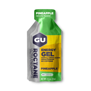 GU - ROCTANE ENERGY GEL - PINEAPPLE (NO CAFFEINE)