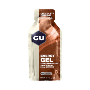 GU - ENERGY GEL CHOCOLATE OUTRAGE (20 MG CAFFEINE)