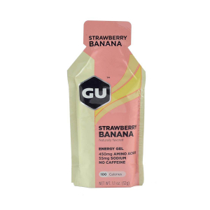 GU - ENERGY GEL STRAWBERRY BANANA (NO CAFFEINE)