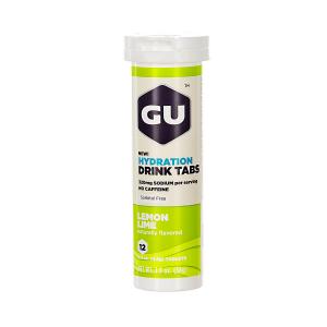 GU - HYDRATION DRINK TABS - LEMON LIME