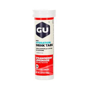 GU - HYDRATION DRINK TABS - STRAWBERRY LEMONADE (NO CAFFEINE)
