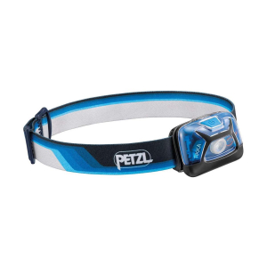 PETZL - TIKKA CORE HEADLAMP 300L BLACK - BLUE LIMITED EDITION