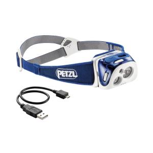PETZL - REACTIK HEADLAMP 220L BLUE