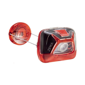 PETZL - ZIPKA HEADLAMP 200L RED