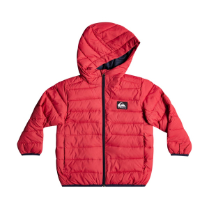 QUIKSILVER - SCALY HOODED PUFFER JACKET