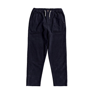QUIKSILVER - BIAK ELASTICATED CORDUROY TROUSERS