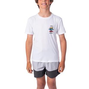 RIPCURL - BOYS SEARCH LOGO SURF T-SHIRT
