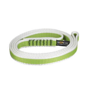 ROCK EMPIRE - OPEN SLING PA 16MM 60CM GREEN-WHITE