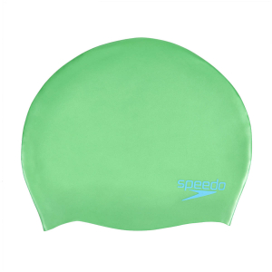 SPEEDO - PLAIN MOULDED SILICONE JUNIOR SWIM CAP