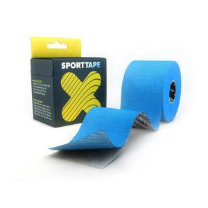 SPORTTAPE - EXTRA STICKY KINESIOLOGY TAPE - 5CMX5M BLUE