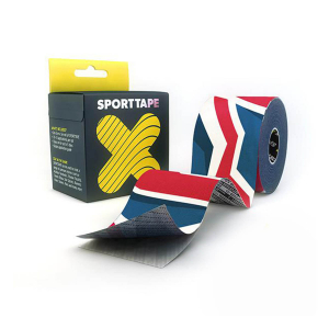 SPORTTAPE - EXTRA STICKY KINESIOLOGY TAPE - 5CMX5M GB