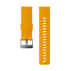 SUUNTO - 24MM EXPLORE 1 SILICONE STRAP AMBER GRAY SIZE M