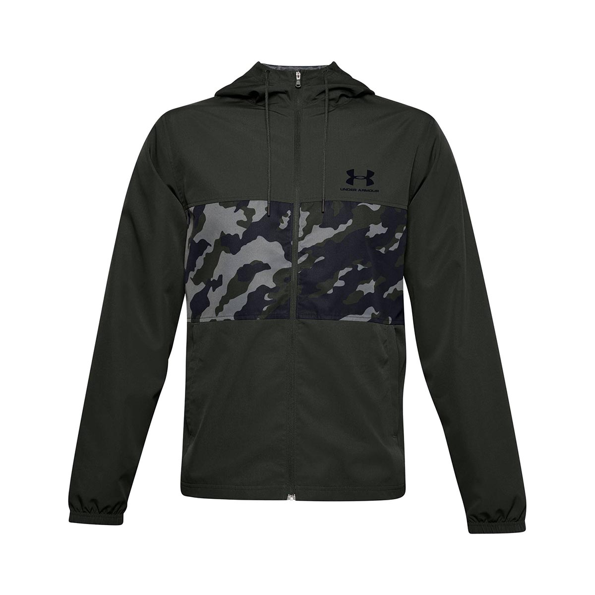 UNDER ARMOUR - SPORTSTYLE WIND CAMO JACKET