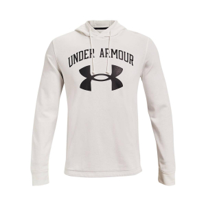 UNDER ARMOUR - RIVAL TERRY BIG LOGO HΟΟDΙΕ